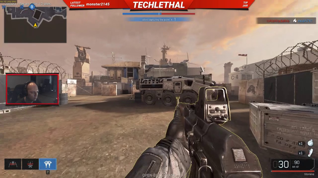 Ironsight: First Time Playing – Secure Point Gameplay