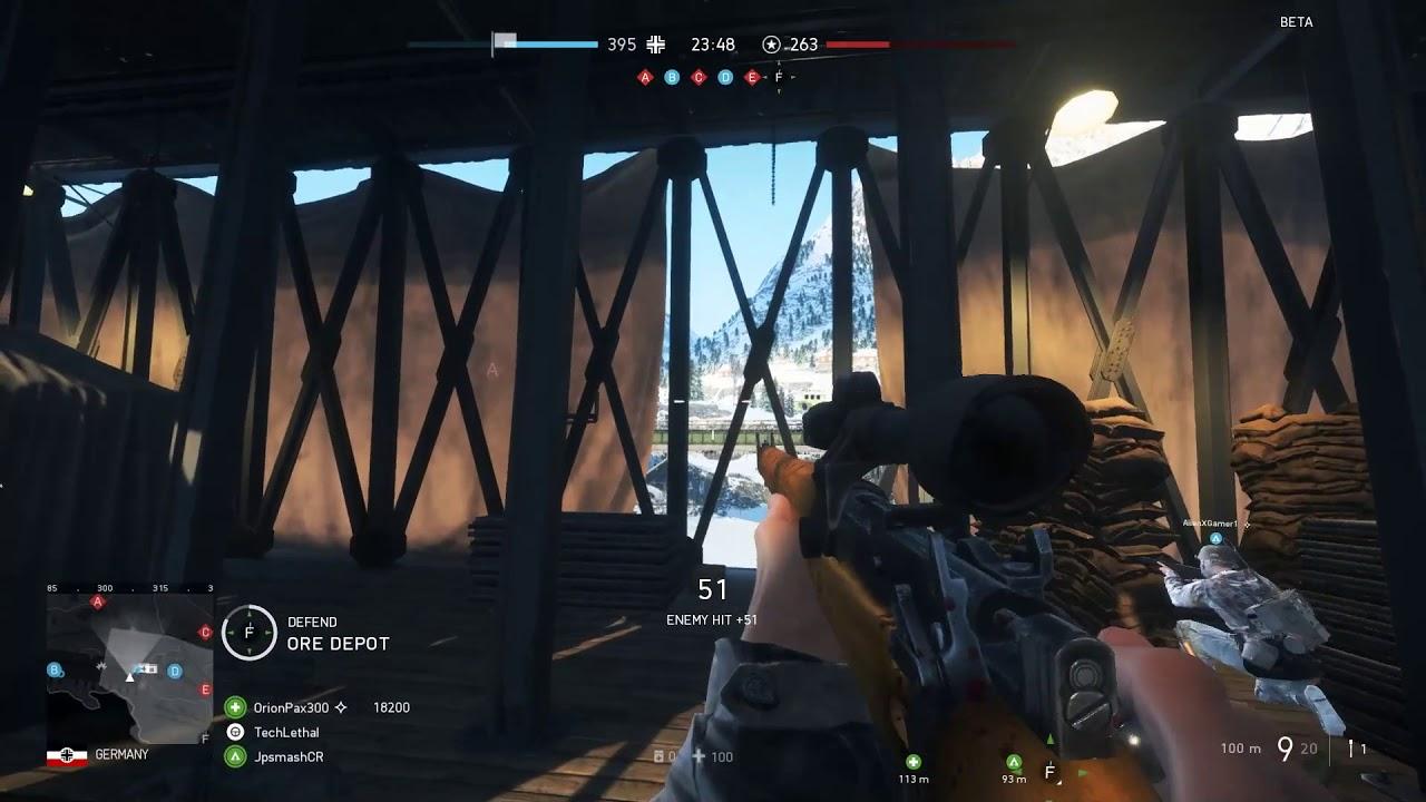 Battlefield 5: Threading the Needle